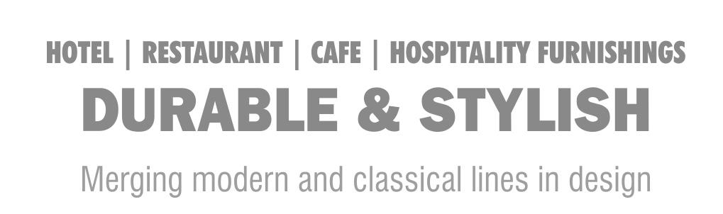 hotel restaurant kafe ev mobilyaları saplam ve şık tasarımda modern ve klasik çizgilerin birleşmesi